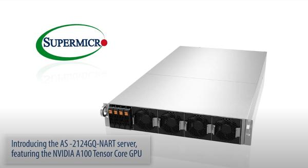 Supermicro SuperMinute 2U System with HGX A100 4-GPU resize