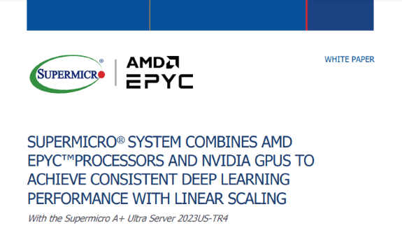 White Paper Consistent Deep Learning Performance with Linear Scaling resize